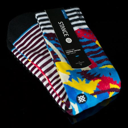 Stance Polly Socks Turquoise in stock now.