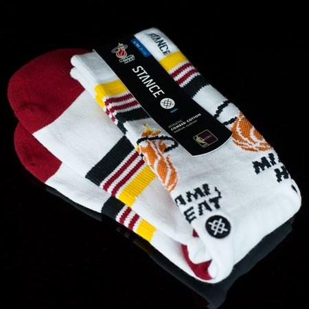 Stance Heat Socks White in stock now.
