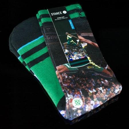 Stance Shawn Kemp Socks Green in stock now.