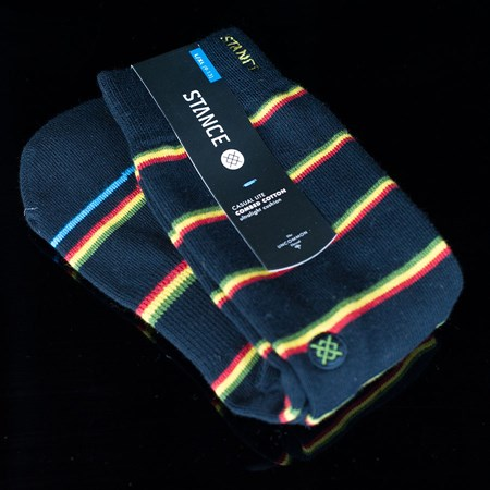 Stance Zion Socks Black in stock now.