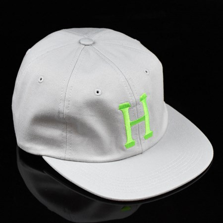 HUF Classic H 6 Panel Hat Cloud, Lime