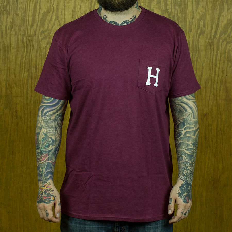Wine T Shirts Classic H Pocket T Shirt in Stock Now