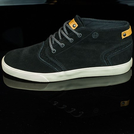 Size 9 in HUF Mercer Shoes, Color: Black, Cream
