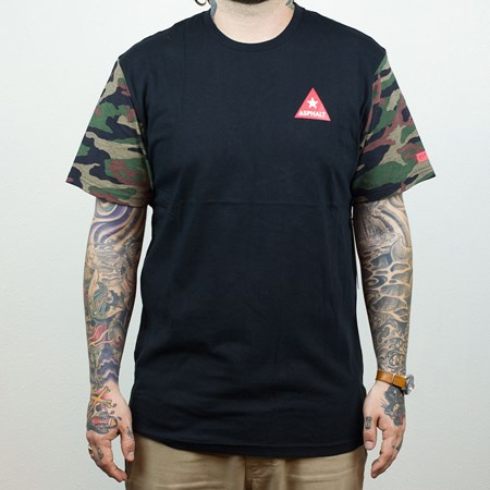 Asphalt Yacht Club Delta Force T Shirt Camo