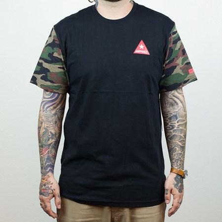 Asphalt Yacht Club Delta Force T Shirt Camo