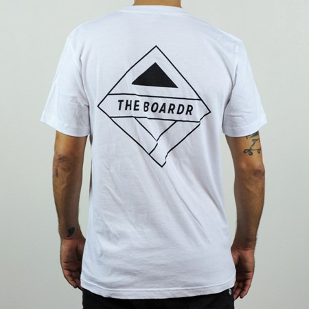 The Boardr Premium Pocket T Shirt White