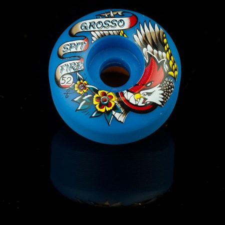 Spitfire Wheels Jeff Grosso OG Flash Wheels Blue in stock now.
