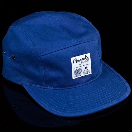 Magenta Subdivision 5 Panel Hat Navy