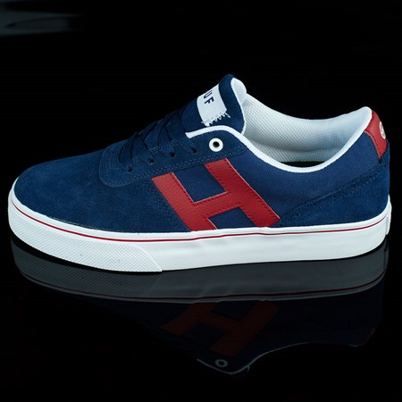 Size 11 in HUF Choice Shoes, Color: Navy, Red