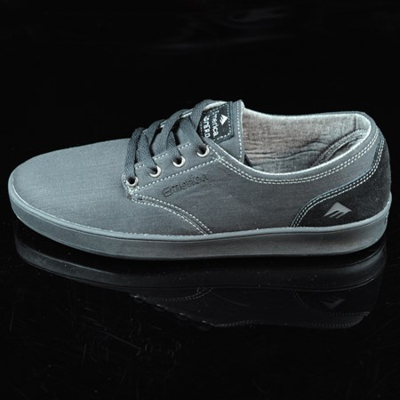 Emerica The Romero Laced Shoes Black, Black, Gum in stock now.