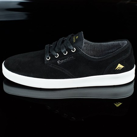 Size 10 in Emerica The Romero Laced Shoes, Color: Black, White