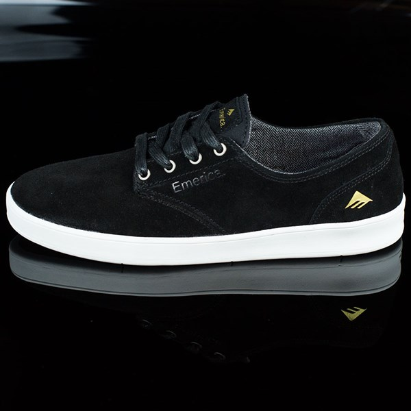 Emerica The Romero Laced Shoes Black, White
