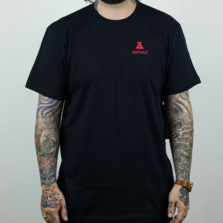 Asphalt Yacht Club Roman A T Shirt Black