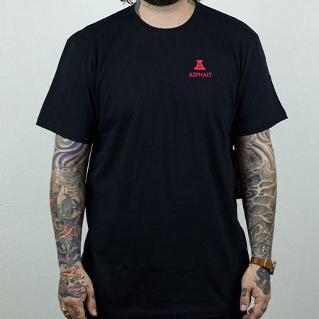 Asphalt Yacht Club Roman A T Shirt Black