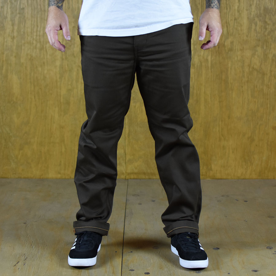 Brown Pants and Jeans Skate Work Pants in Stock Now
