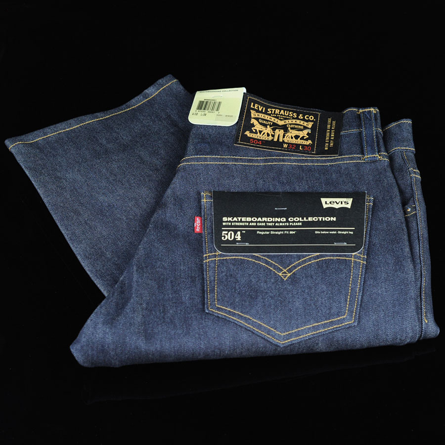 Rigid Indigo Pants and Jeans Skate 504 Jeans in Stock Now