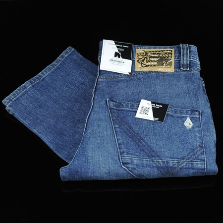 Size 34 in Volcom Nova Jeans, Color: High Time Blue