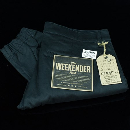 Size 38 in Kennedy Denim Co The Weekender Essentials, Color: Black