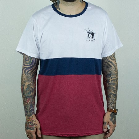 RIPNDIP Liberty T Shirt Red, White, Blue