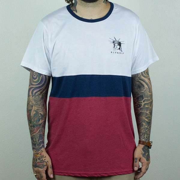 RIPNDIP Liberty T Shirt Red, White, Blue