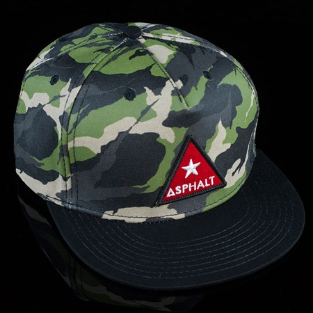 Asphalt Yacht Club Camo Snap Back Hat Camo