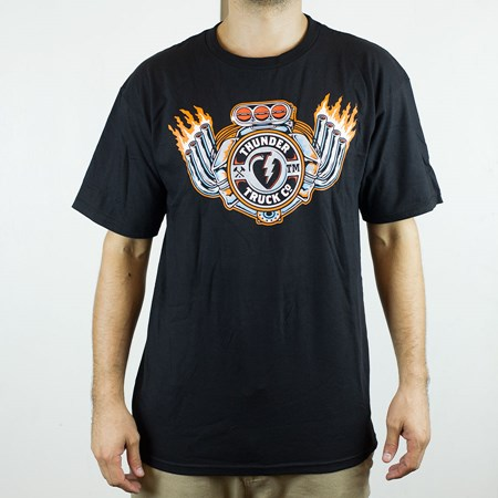Thunder Trucks Super Charged T Shirt Black in stock now.