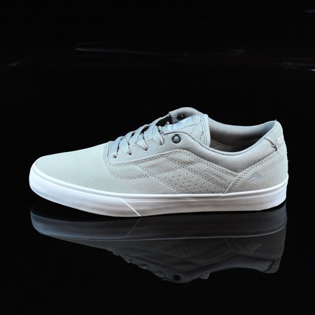 Size 11 in Emerica The Herman G6 Vulc Shoes, Color: Light Grey