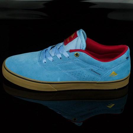 Emerica The Herman G6 Vulc Shoes Light Blue