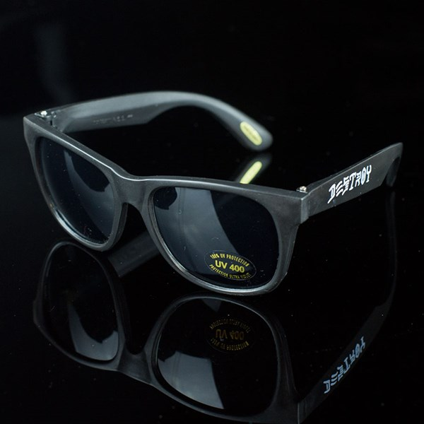 Thrasher Sunglasses  skate and destroy sunglasses black in stock at the boardr