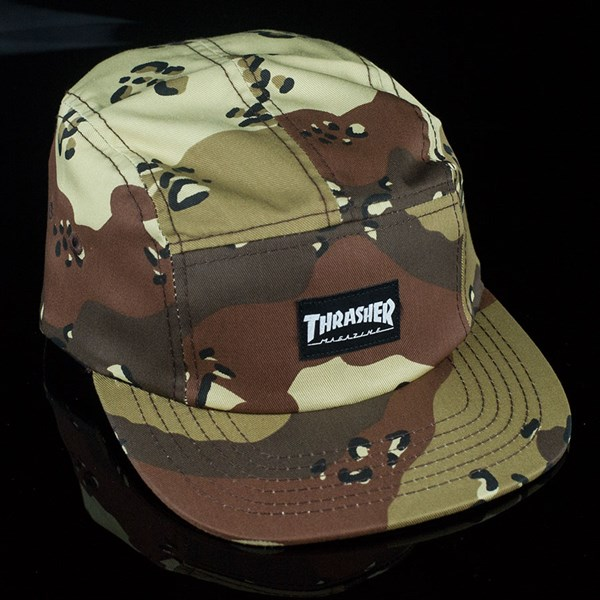 2bd7ef10d38 Thrasher 5 Panel Hat Desert Camo In Stock at The Boardr