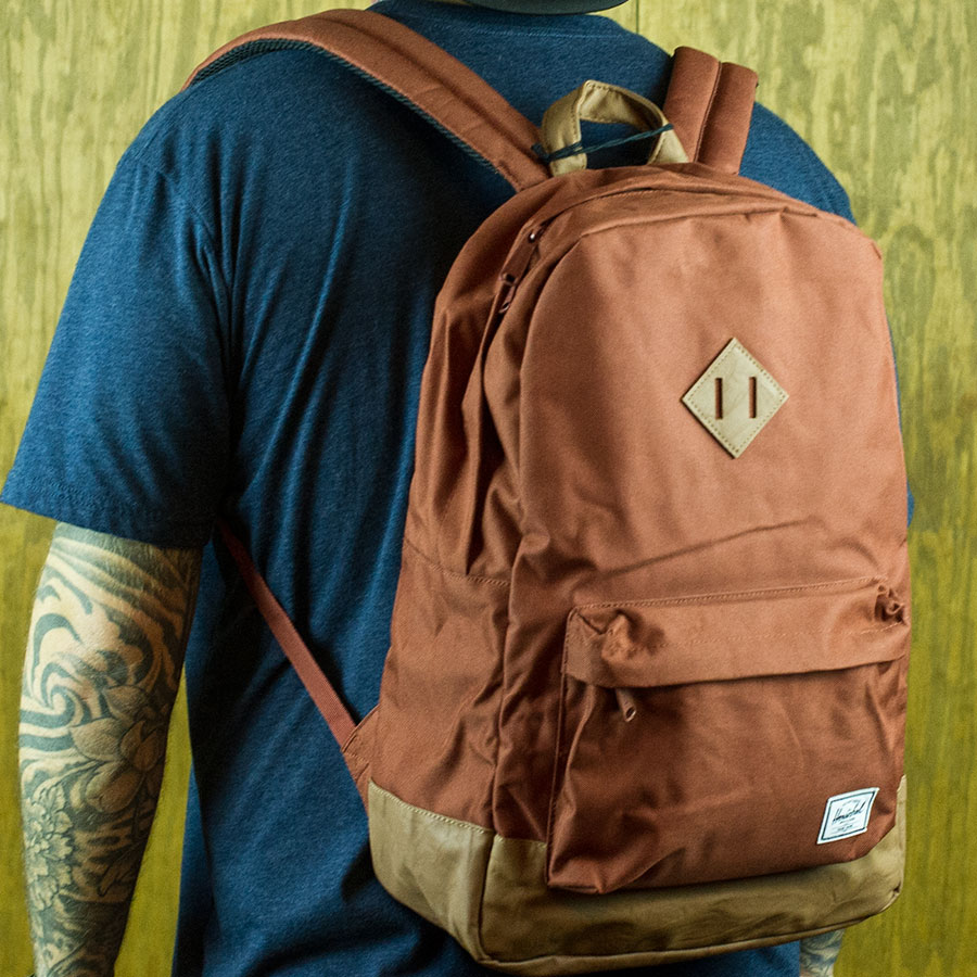 Rust Backpacks and Bags Heritage Backpack in Stock Now
