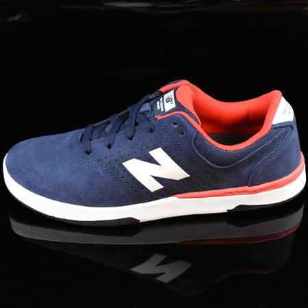NB# Stratford Shoes Navy, Red in stock now.