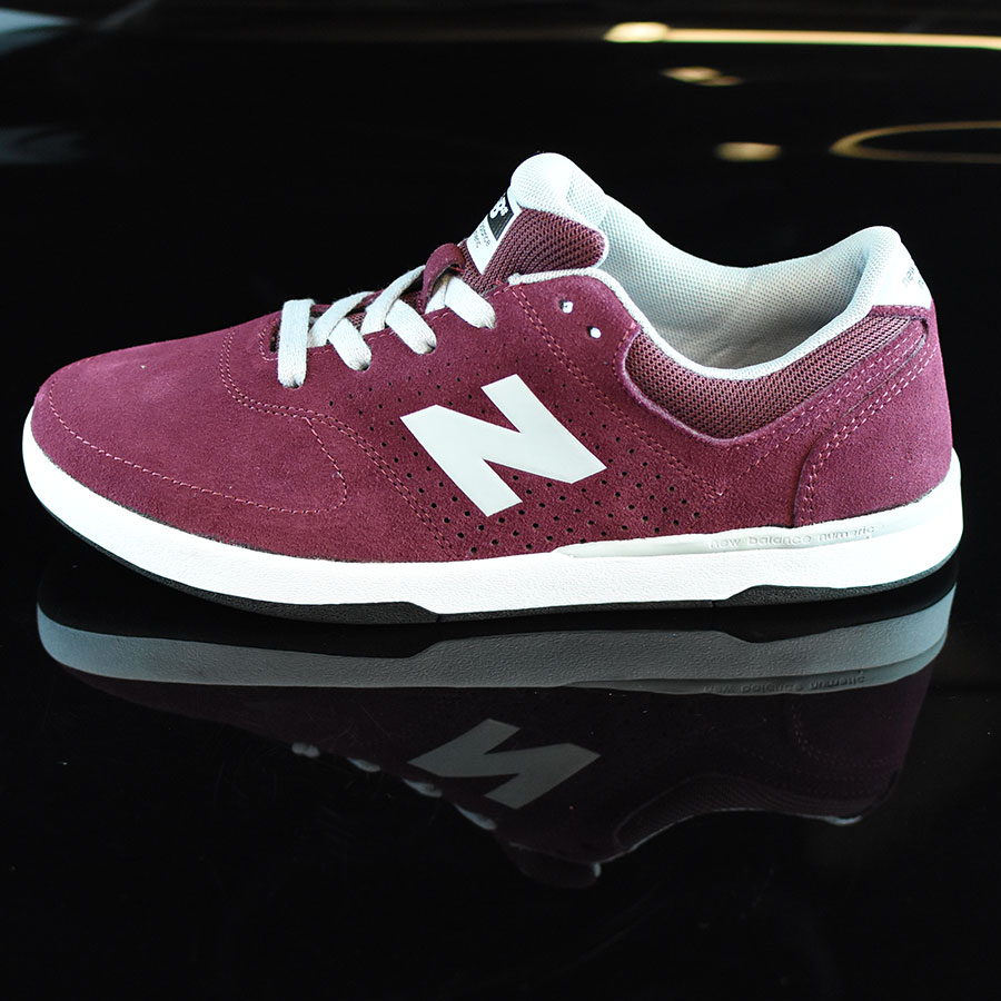 Burgundy, Grey Shoes Stratford Shoes in Stock Now