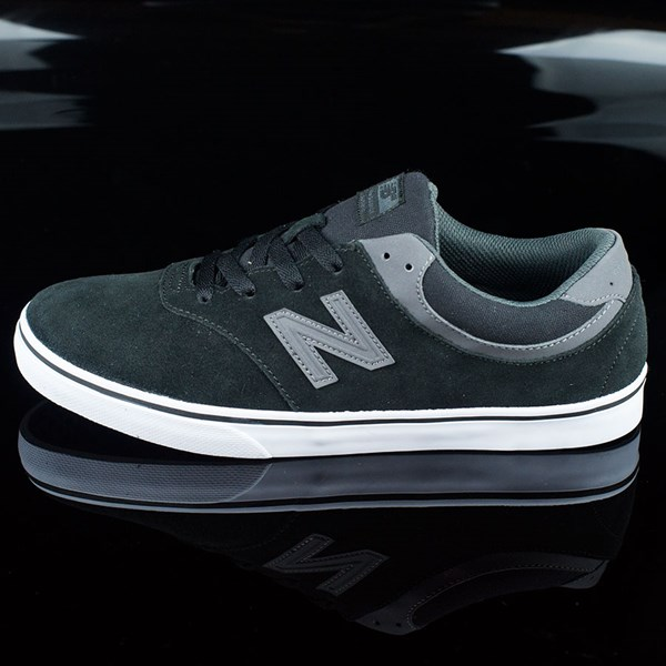 NB# Quincy Shoes Black, Magnet Grey