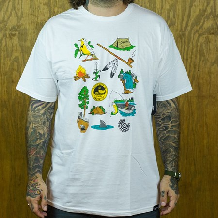 Organika Trail T Shirt White