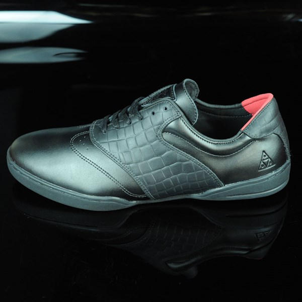 f1863ae83e HUF Dylan Rieder Shoes Black Leather