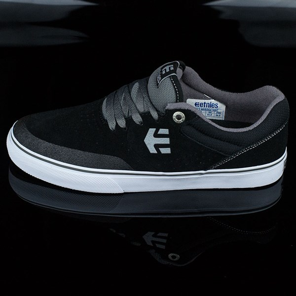 etnies Marana Vulc Shoes Black, Grey