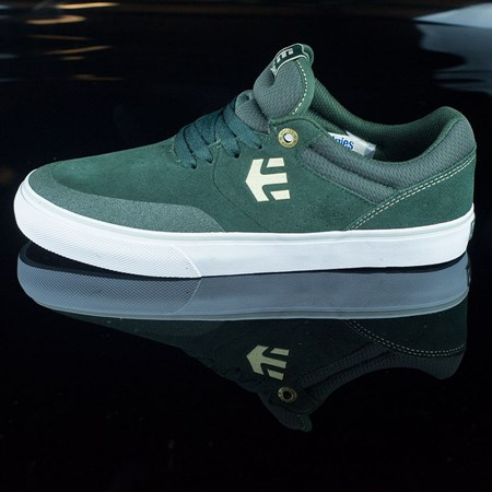 etnies Marana Vulc Shoes Dark Green in stock now.