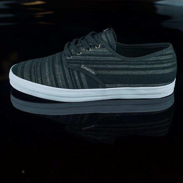 Emerica The Wino Shoes Black, Grey