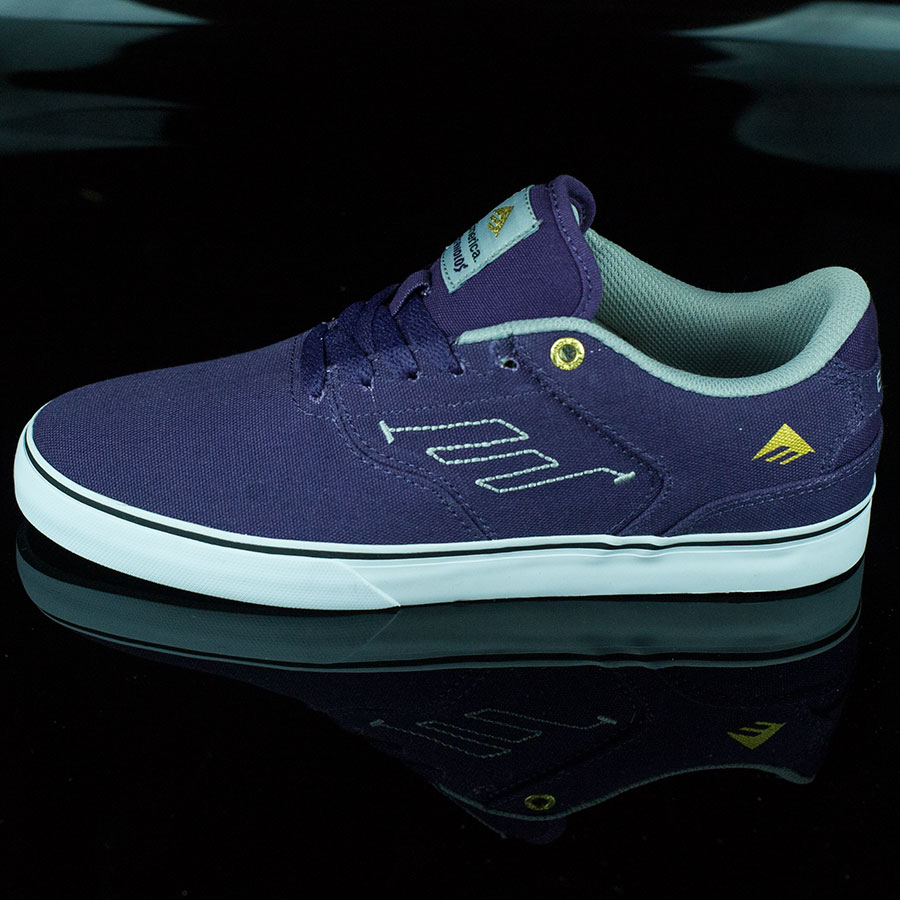 Purple Shoes The Reynolds Low Vulc Shoes in Stock Now