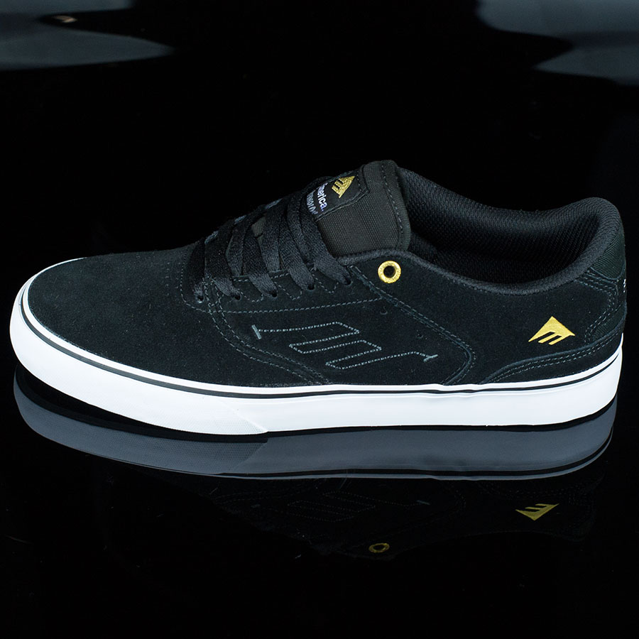 Black, White Shoes The Reynolds Low Vulc Shoes in Stock Now