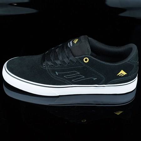 Emerica The Reynolds Low Vulc Shoes Black, White