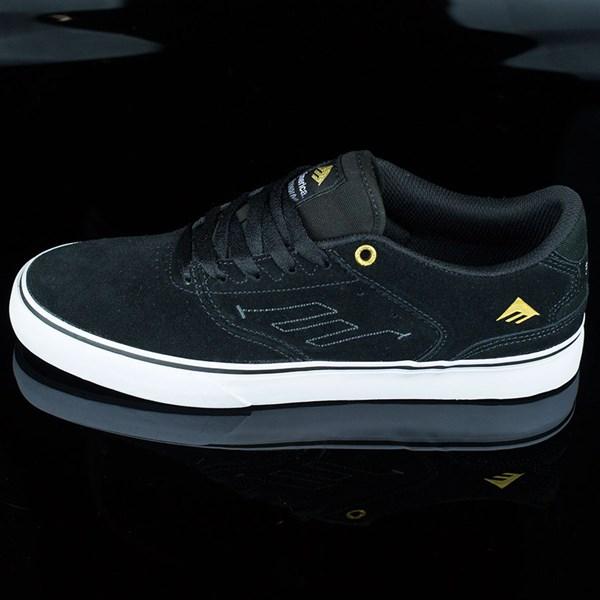 Emerica The Reynolds Low Vulc Shoes Black, White