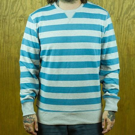 Levi's Heathered Crew Sweatshirt Heather Grey, Blue