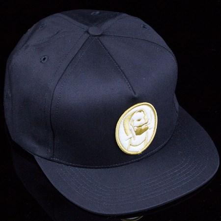 HUF Roller Snapback Hat Black