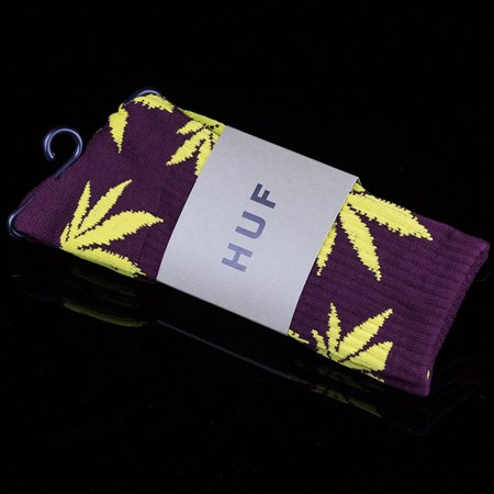 HUF Plant Life Socks Wine, Gold