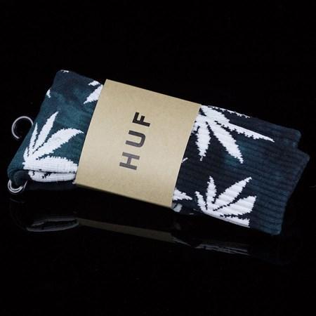 HUF Plant Life Socks Tie Dye Jade