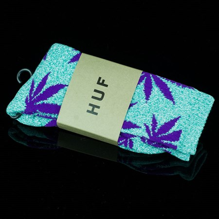 HUF Plant Life Socks Jade Heather, Purple