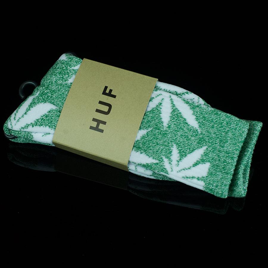 Heather Green, White Socks Plant Life Socks in Stock Now