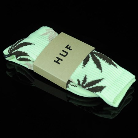 HUF Plant Life Socks Mint, Chocolate, Tan
